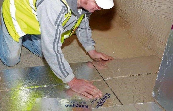 PIR Dämmplatten : Fußbodendämmung